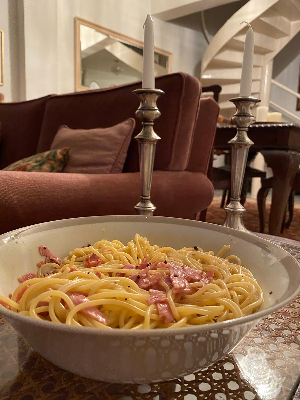 Authentic Italian Carbonara